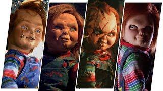 Chucky Evolution in Movies & TV (Child