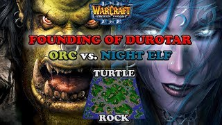 Grubby | Warcraft 3 The Frozen Throne | Orc v NE - The Founding of Durotar - Turtle Rock