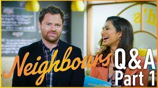 Nicholas Coghlan (Shane Rebecchi) and Sharon Johal (Dipi Rebecchi) Q&A Part 1
