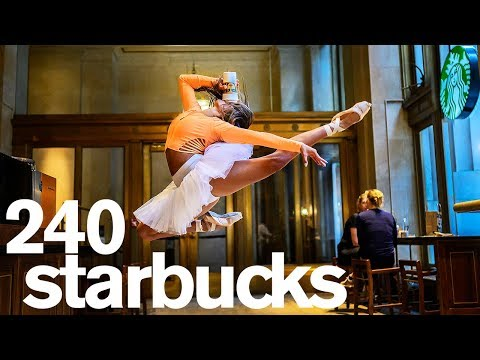 A Photo in Every Starbucks in NYC 1 Day Challenge
