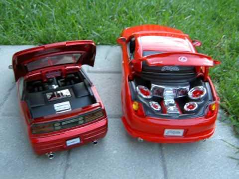 1 18 lexus SC 430 Ferrari Enzo Nissan 300 zx