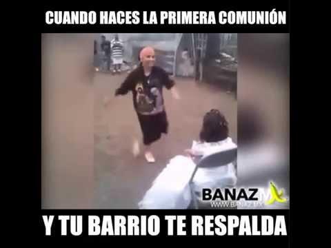 CHOLOS BAILANDO EN UNA FIESTA TU COLONIA POBRE
