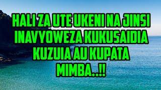 ZIFAHAMU HALI ZA UTE KWA MWANAMKE NA JINSI ZINAVYOWEZA KUTUMIKA KUPATA AU KUZUIA MIMBA...