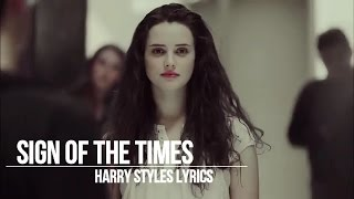 sign of the times harry styles 13 reasons why lyrics