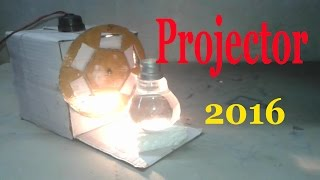How To Make a Projector using bulb Easy at home made