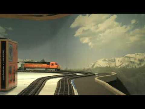 Lionel Model Railroad Train Accident