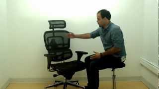 Eurotech_Ergohuman-Ergonomic Mesh Office Chair with Headrest