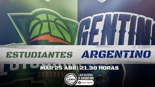 Liga Nacional: Estudiantes vs. Argentino | #LaLigaEnTyC
