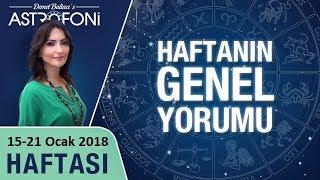 Haftalık burç ve astroloji yorumu, 15-21 Ocak 2018. Astrolog Demet Baltacı