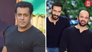 Salman's Foreign Shoot Schedule In Trouble? |  Rohit Shetty & Ajay Devgn To Work Soon?