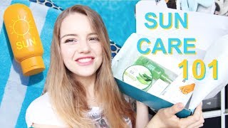 ☼ KOREAN SUN CARE 101 ☼ ft. Hallyupedia July Box!