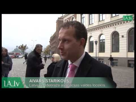 Demonstrates hydrogen buses in Riga