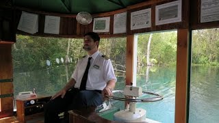 Silver Springs State Park Glass Bottom Boat Ride