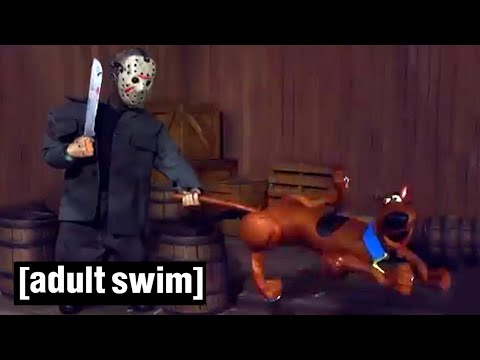 A Scooby Friday Robot Chicken Adult Swim