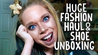 HUGE FASHION HAUL & SHOE UNBOXING! - DOLLS KILL