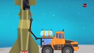 Transformer | Space Shuttle | Fuel Tank | Rocket | Video For Kids | super hero cars