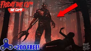 RAREST JASON SKIN! & Fidget Spinner Give Away Every 10 Minutes | Friday the 13th Game