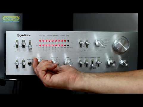 Amplificador Gradiente Model 360 05