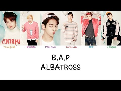 B.A.P - Albatross (Color coded lyrics Han|Rom|Eng)