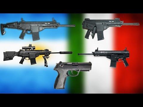 Argentina FABRICARA armas ITALIANAS