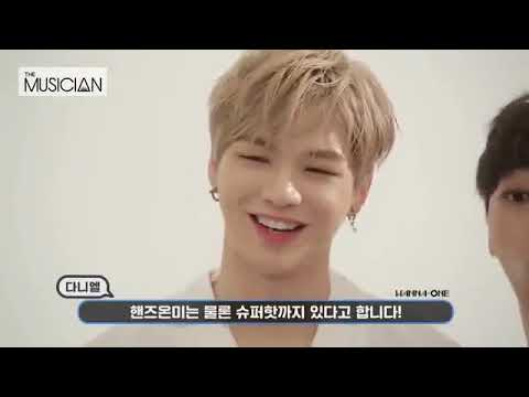 [ENG SUB CC] The Musician X Wanna One Greeting Message