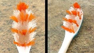 How To Revive A Worn Out Toothbrush