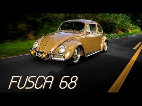 VW Fusca 68 Estilo e Originalidade.