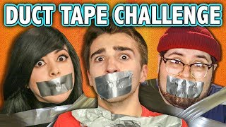 DUCT TAPE CHALLENGE! (ft. React Cast) | Challenge Chalice