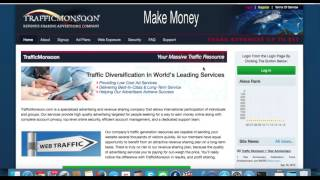 Make Money online with Traffic Monsoon ppc