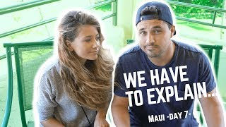 WE HAVE TO EXPLAIN SOMETHING... (VERY SERIOUS)