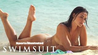 Myla Dalbesio Gets Wet, Wears Nothing But Sand In Curaçao | Uncovered | Sports Illustrated Swimsuit