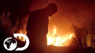 Moonshine Stash on Fire! | Moonshiners