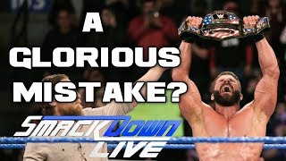 WWE Smackdown Live 1/16/18 Full Show Review & Results: A GLORIOUS TITLE WIN FALLS FLAT