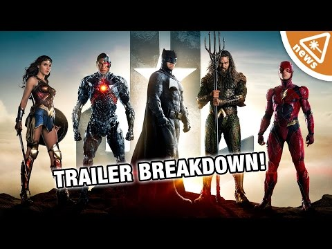 7 Things We Noticed in the Justice League Trailer Nerdist News w Jessica Chobot