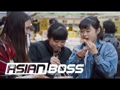 Xxx Mp4 The Japanese React To American Style Sushi ASIAN BOSS 3gp Sex