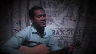 Dhako Jotona noyono duhate \\Mehdi Hasan \\  Backstage cover