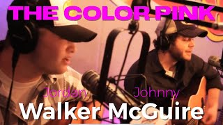"Walker McGuire sing ""The Color Pink"""