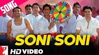 Soni Soni Song | Mohabbatein | Shah Rukh Khan | Uday Chopra | Jugal Hansraj | Jimmy Shergill
