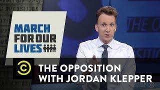 Adult-Splaining Grammar to Teen Activist David Hogg - The Opposition w/ Jordan Klepper