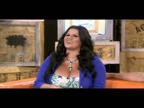 ANGELINA Actriz porno cubana SIN CENSURA en Guarever Tudei por SOiTV
