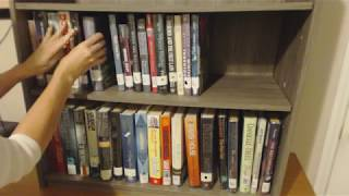 ASMR Request ~ Organizing Library Books On Shelves (+ Inaudible Whisper)