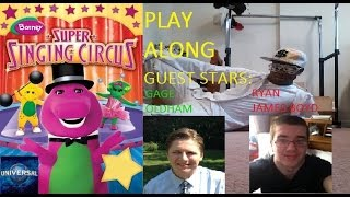 Barney's Super Singing Circus Play Along (2nd Release/Special Edition)