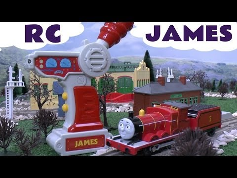 Remote Control RC James Thomas The Train by Tomy Takara for Trackmaster Kids Toy Train Set Spotlight