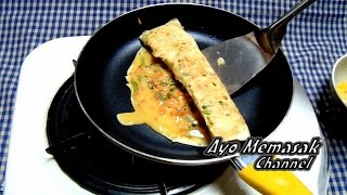 Resep dan Cara Membuat Dadar Telur Gulung Khas Jepang