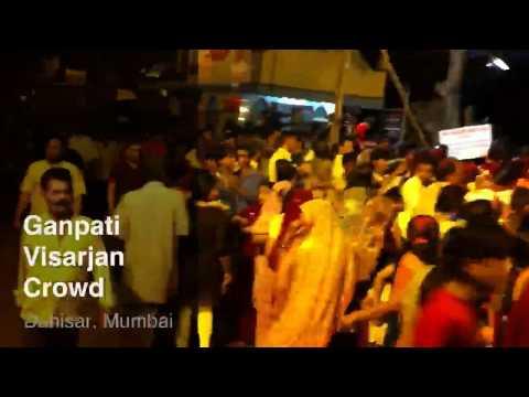 Ganpati Visarjan — Dahisar, Mumbai