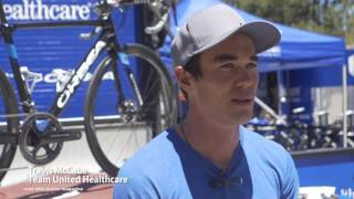 Travis McCabe Team United Healthcare Interview at Tour of California