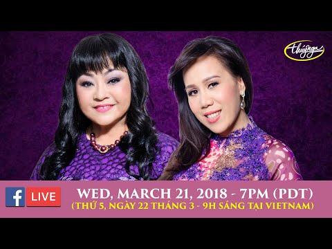 Livestream Hương Lan & Mai Thiên Vân March 21 2018