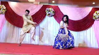 BROTHER & SISTER EPIC DANCE VIDEO IN SANGEET SHANDHYA- 2017