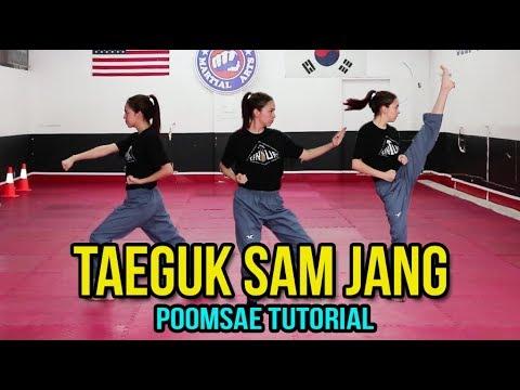 Xxx Mp4 POOMSAE TAEGUK 3 SAM JANG TUTORIAL Samery Moras Taekwondo 3gp Sex