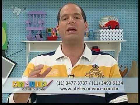 Ateliê na Tv 11 04 12 Cris Ramos Porta Papel Toalha